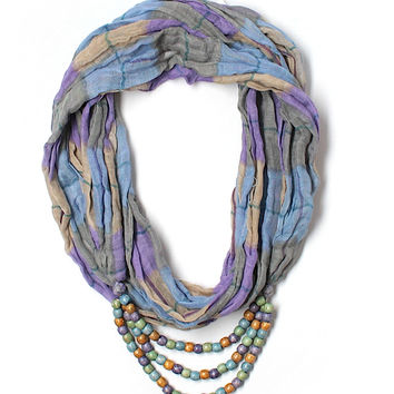 Beaded Accents Scarf