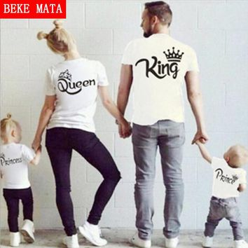 BEKE MATA Family Matching T-shirts;  King ,Queen, Prince & Princess