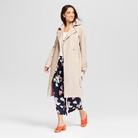 Women's Trench Coat - A New Day™ Khaki L