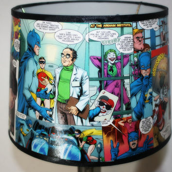 Batman Custom Comic Book Lamp