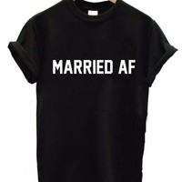 MARRIED AF TEE