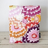 IPad Case - Floral Pink Peach Dahli.. on Luulla