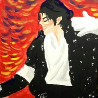 essence of Michael Jackson Painting by Edward Settles - essence of Michael Jackson Fine Art Prints and Posters for Sale