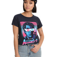 Doctor Who Allonsy Retro Girls T-Shirt