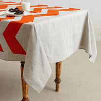 Chevron Tablecloth
