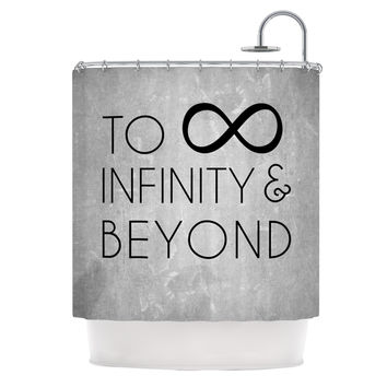 "KESS Original ""To Infinity & Beyond"" Shower Curtain"