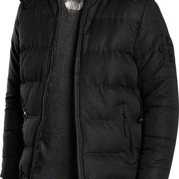 Bellfield Ludlow Hooded Padded Jacket
