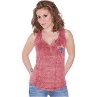 Touch by Alyssa Milano Philadelphia Phillies Ladies Marisol Tank Top - Red