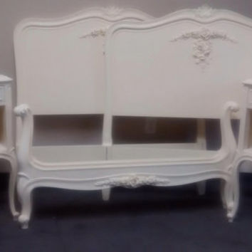 "Vintage French Provincial Bedroom Set by Drexel ""Touraine"" Collection"