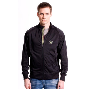 Levelwear Pittsburgh Penguins Chaser Full Zip Jacket - Black