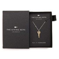 The Giving Keys 'Petite - Love Key' 16-inch Pendant Necklace | Nordstrom