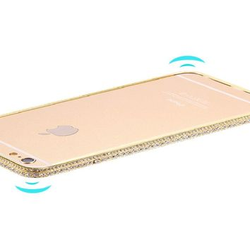 Diamond Bling Metal Frame For iPhone 6 6s / 6 6s Frame