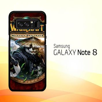 World of Warcraft Guardian Druid Mists of Pandaria Z0652 Samsung Galaxy Note 8 Case