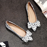 Summer Leather Butterfly Flat Pregnant Shoes [4919872836]