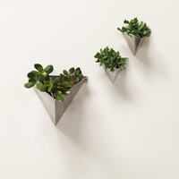 Tessellation // Large // Modern Wall Planter