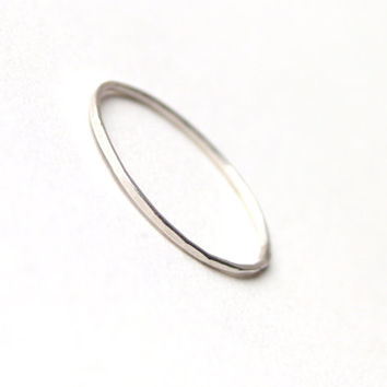 Tiny Sterling Silver Skinny Ring