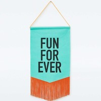 Fun Forever Banner - Urban Outfitters