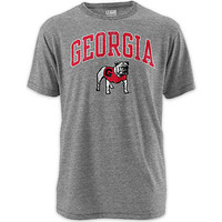 1508B University of Georgia Tri-Blend T-Shirt | University Of Georgia