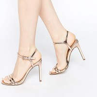 ASOS | ASOS HAPHAZARD Heeled Sandals at ASOS