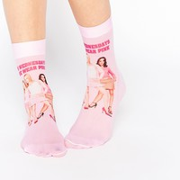 ASOS Mean Girls 'On Wednesdays We Wear Pink' Socks