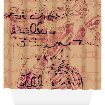 Infinite Wisdom Shower Curtain