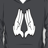 Mickey Hands - Triangle Hoodie (Pullover)