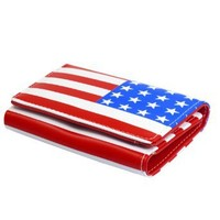 Amazon.com: Allegra K American Flag Pattern Magnetic Flap Closure Tri-fold Purse Wallet for Women: Clothing