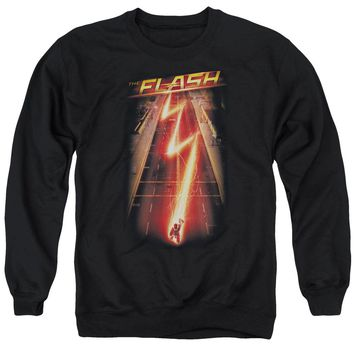 The Flash - Flash Ave Adult Crewneck Sweatshirt