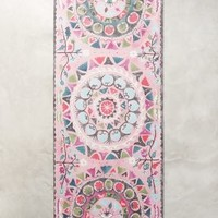 Suzani Yoga Mat by Anthropologie in Pink Size: One Size Activewear