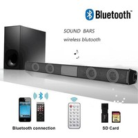 Wireless Bluetooth Soundbar Speaker TV Home Theater Soundbar for TV Computer Mobile Phone Tablet Home Theater Audio