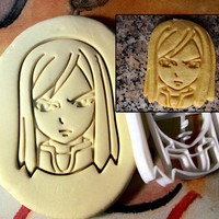 Fairy Tail Erza Scarlet Cookie Cutter - Made from Biodegradable Material