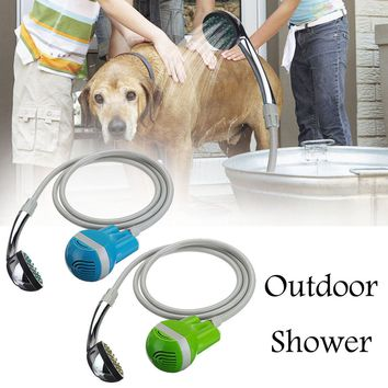 Multifuntion Outdoor shower car baby pet shower washing camping Garden furniture Portable USB Shower Water Pump Rechargeable