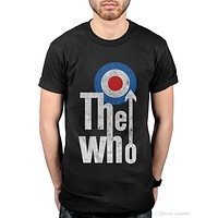 Official The Who Elevated Target T-Shirt Quadrophenia Who Are You Tommy It's Har T shirt O-Neck Summer Personality Fashion Men