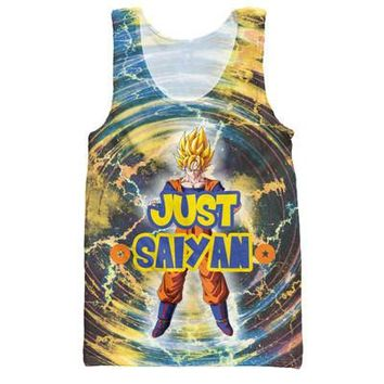 Dragon Ball Z Graphic Summer Anime Tank Top V5