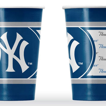 New York Yankees Disposable Paper Cups