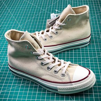 Converse 1970s 44755C Milk White High Sneakers Shoes - Best Online Sale