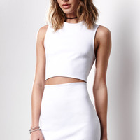 Lucca Couture Ivana Cutout Twill Dress at PacSun.com