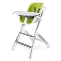 4moms® High Chair in White/Green