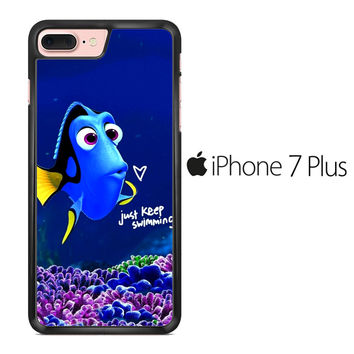 Just Keep Swimming Dory iPhone 7 Plus Case