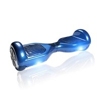 A-Lighting Auto Two-wheel Smart Self Balancing Scooters Drifting Board with LED Light Skateboard Electric Unicycle for Kids & Adults + A pair car keychain