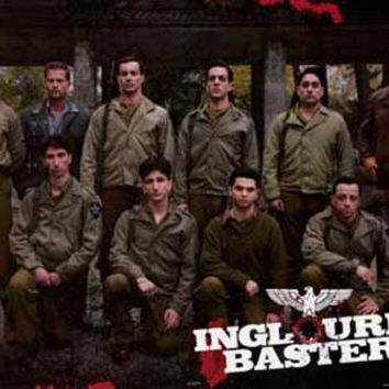 Inglourious Basterds Movie Cast Poster 24x36