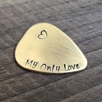 My only Love, Guitar picks, I pick you,Guitar picks, wedding date pick, Heart, Personalized guitar picks, boy friend, girl friend, men gift