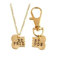 Bone Best Friends Necklace