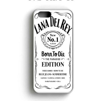 Lana Del Rey Born To Die Jack Daniels iPhone 5 Case iPhone 5s Case iPhone 5c Case