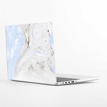 Grey Marble Laptop Skin