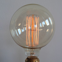 Edison Filament Light Bulb, The Industrial Globe