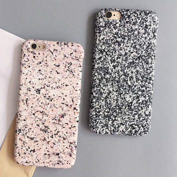 High-quality Unique Marble Cover for iPhone 7 7Plus & iPhone 6 6s Plus & iPhone 5s se Case +Gift Box-D98