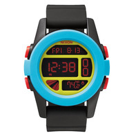 Nixon: Unit Watch - Black / Blue / Chartreuse