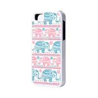 Elephant iPhone 6 Plus 6 5S 5 5C 4 Rubber Case