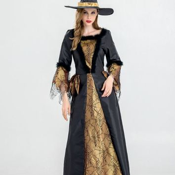 Halloween Costume Adult Witch Dress